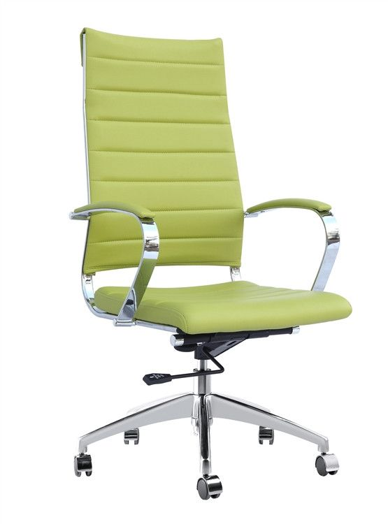 Modern Conference Office Chair High Back Green