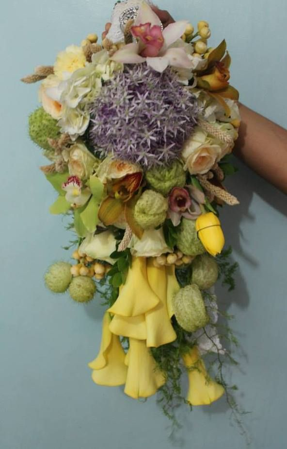 Under the Sea Wedding Inspired Bridal Bouquet