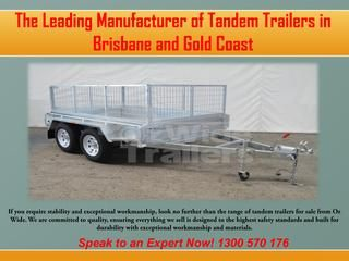 Car Trailers For Sale Gold Coast, QLD  Oz Wide is pleased to be Australia's driving provider of the best scope of auto trailers. They offer assortment, with a range than guarantees there is something to address the issues of everybody, from the littlest employments to the greatest.