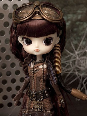 "Ra Muw ~~ Pullip ""Steampunk"" Doll"