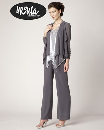 T. Carolyn even does pantsuits! Perfect for the chic guest or mother who doesn't want to wear a gown!
