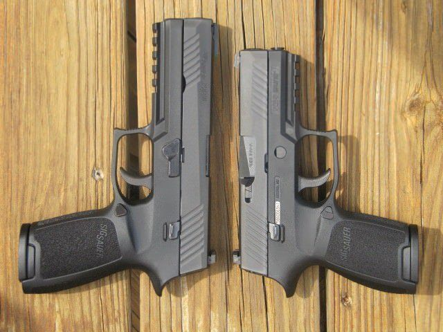 Sig Sauer P320 Full-Size and Compact