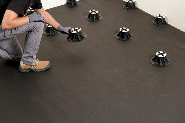 Carrelage Clipsable 2cm Comment Realiser Une Pose Sur Plots Carrelage Clipsable Carrelage Et Carrelage Terrasse