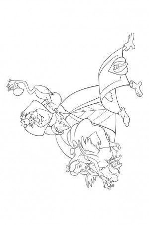 Mejores 39 imágenes de Alice in wonderland coloring book en ...