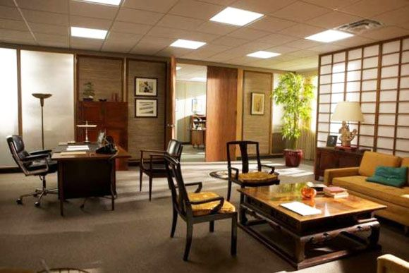 Mad Men's interior design and set decorations | Miss at la Playa