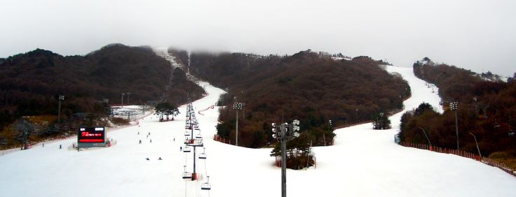 Pyeongchang is a county in Gangwon province, South Korea located in the Taebaek Mountains region. It is also home to several Buddhist temples, including Woljeongsa. It is located approximately 180 km east of Seoul, the capital of South Korea.