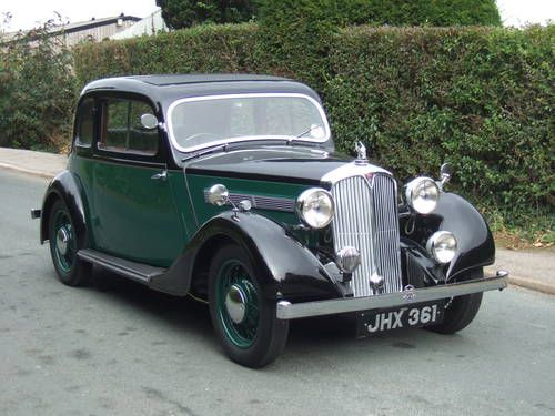 Rover 10 Coupe (1938)