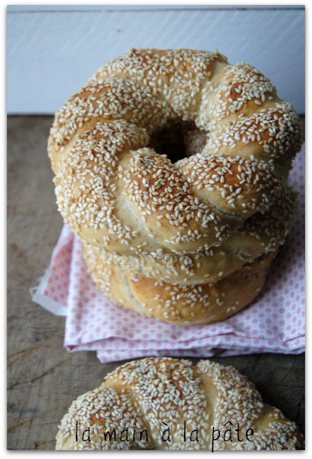 Simit, petits pains turcs