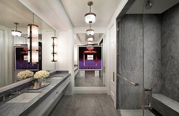 Art Deco Inspiration With a Contemporary Flap