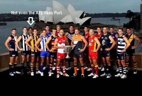 AFL no one likes port