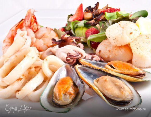 Как приготовить морепродукты правильно и вкусно