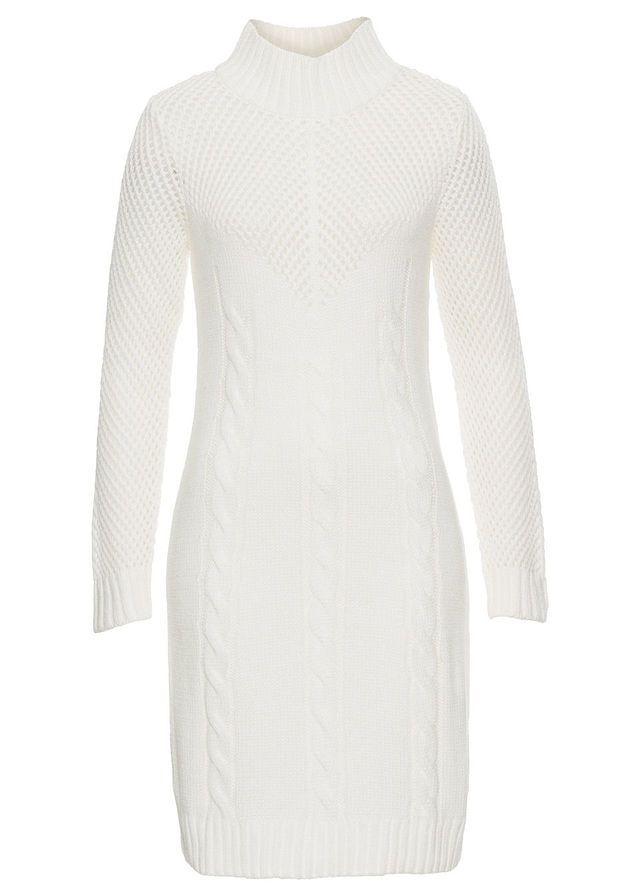 Rochie tricotată, cu guler Perfectă • 119.9 lei • bonprix
