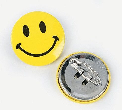 Smiley Face Buttons | 48ct