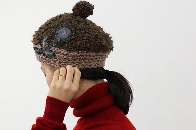 frost garden knit cap