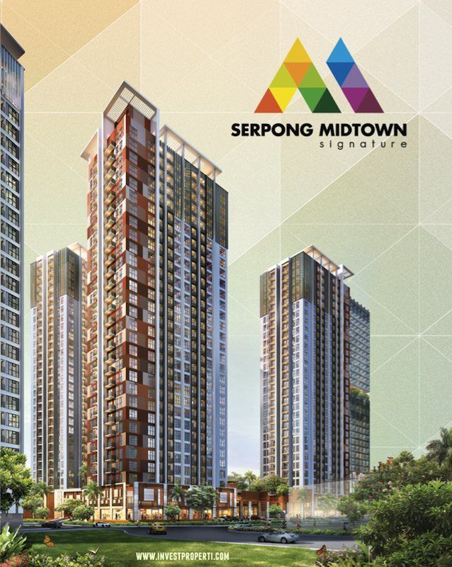 Serpong Midtown Signature apartment Gading Serpong.