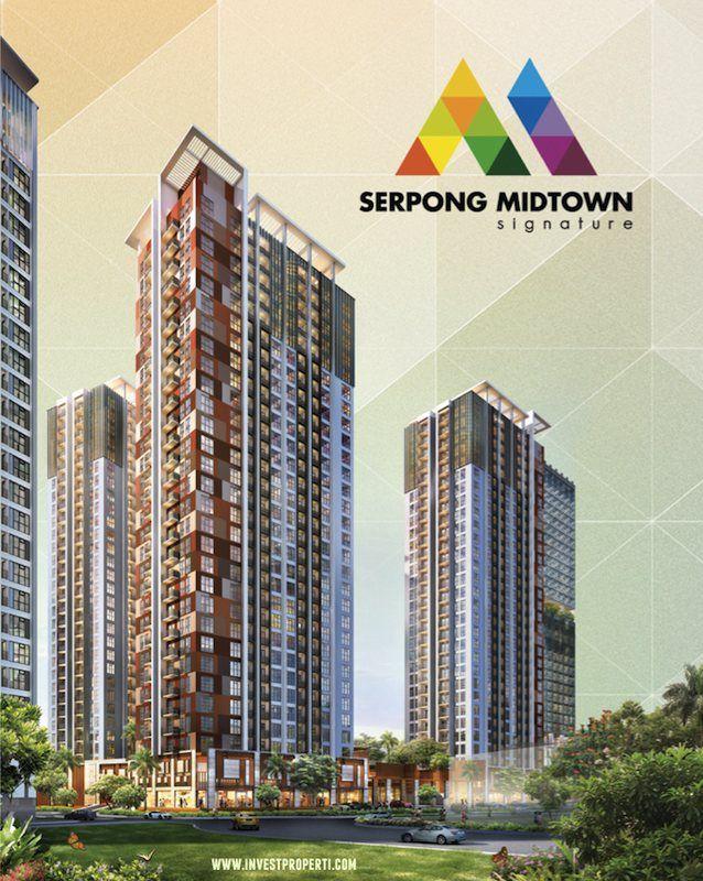 Serpong Midtown Signature apartment Gading Serpong.