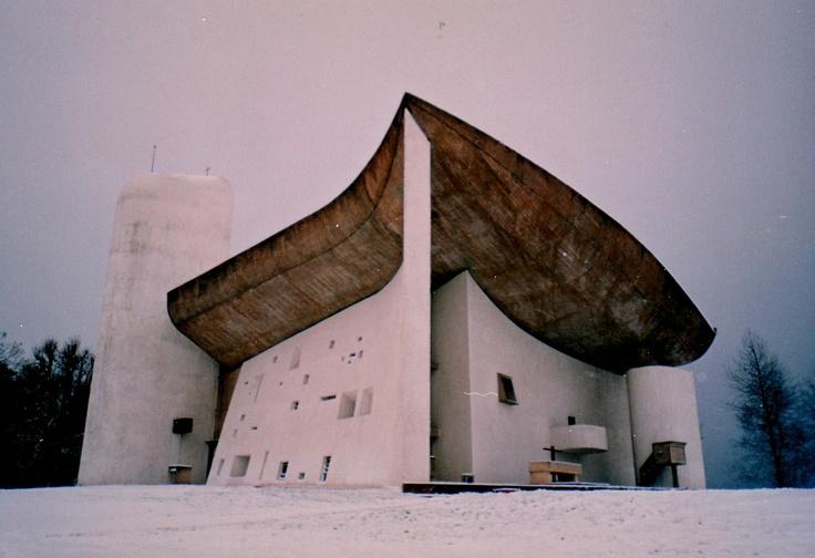 Le Corbusier's Notre-Dame-du-Haut de Ronchamp of 1954