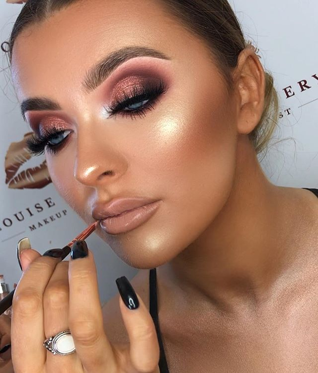 Soft Glam Eye Going Out Makeup Glam Makeup Look Purple Eye Makeup