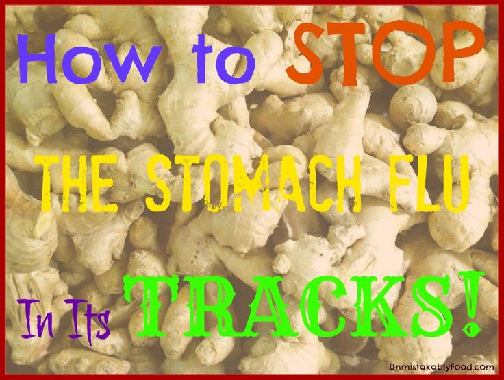 how to avoid stomach flu