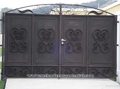 Melendez ornamental portones en puerto rico herrerias en - Restaurar puertas antiguas ...