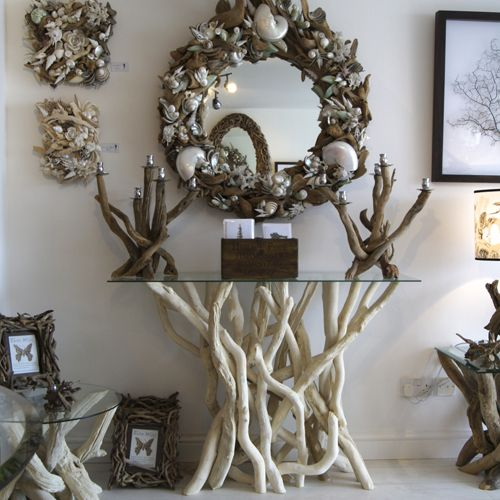 Awesome Bleached Driftwood Console Table by Karen Miller vioew the range online at Picture - Inspirational Driftwood sofa Table HD