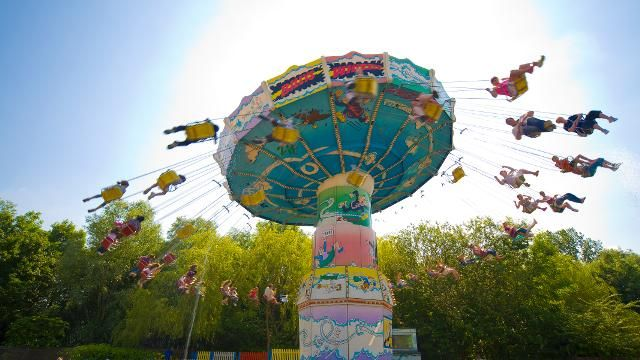 Meet dragons, brave rollercoasters and have the time of your life at Chessington World of Adventures.