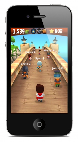 """""""Running With Friends"""" Adds a Dash of Diversity to Zynga's Mobile Games Catalog: you can challenge someone to a race without needing to play at the same time as your opponent to compete"""