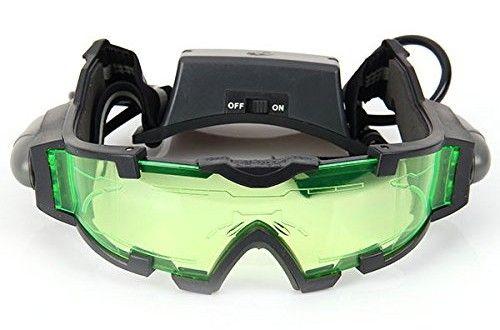 Airsoft, Paintball: Gafas de visión nocturna con azul Flip – 7€