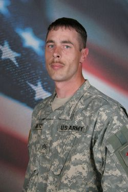 Army Sgt. Corey J. Aultz  Died January 30, 2007 Serving During Operation Iraqi Freedom  31, of Port Orchard, Wash.; assigned to the 1st Battalion, 77th Armor Regiment, 2nd Brigade Combat Team, 1st Infantry Division, Schweinfurt, Germany; died Jan. 30 at Ramadi, Iraq, of wounds suffered when an improvised explosive device detonated near his vehicle during combat operations.