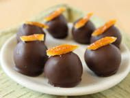 I love these Orange Truffles! Their flavor is awesome, however because of the zest, they are kind of hard to keep together, you REALLY have to press and work the ganache...