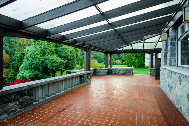 Cecil Green Park terrace.  http://cecilgreenpark.ubc.ca/  #weddings #vancouver #venues