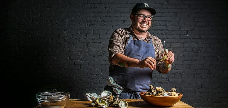 The Charleston chef schools us on Lowcountry cuisine and shows us how to make traditional oyster stew.