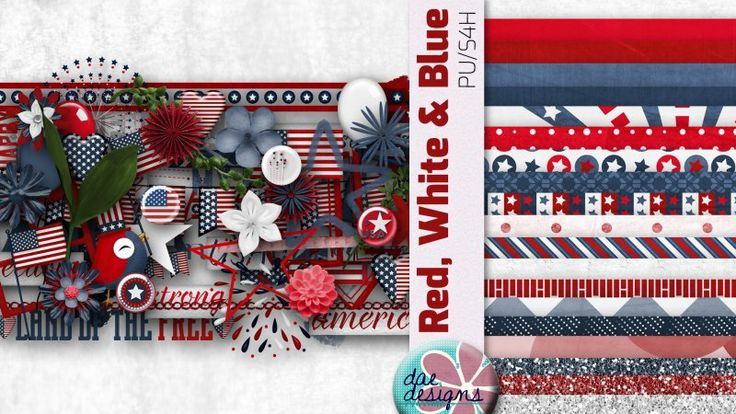 Red, White & Blue by Dae Designs