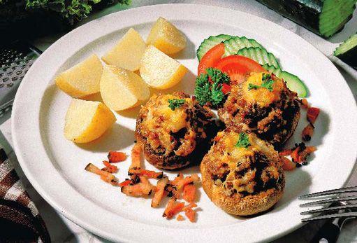 Bezmasá jídla s houbami - Houby