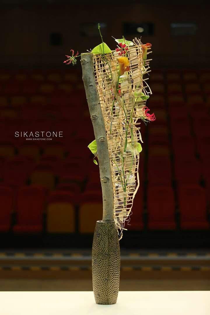 """""""Pim van den Akker Floral Art Demonstration"""" in Beijing"""