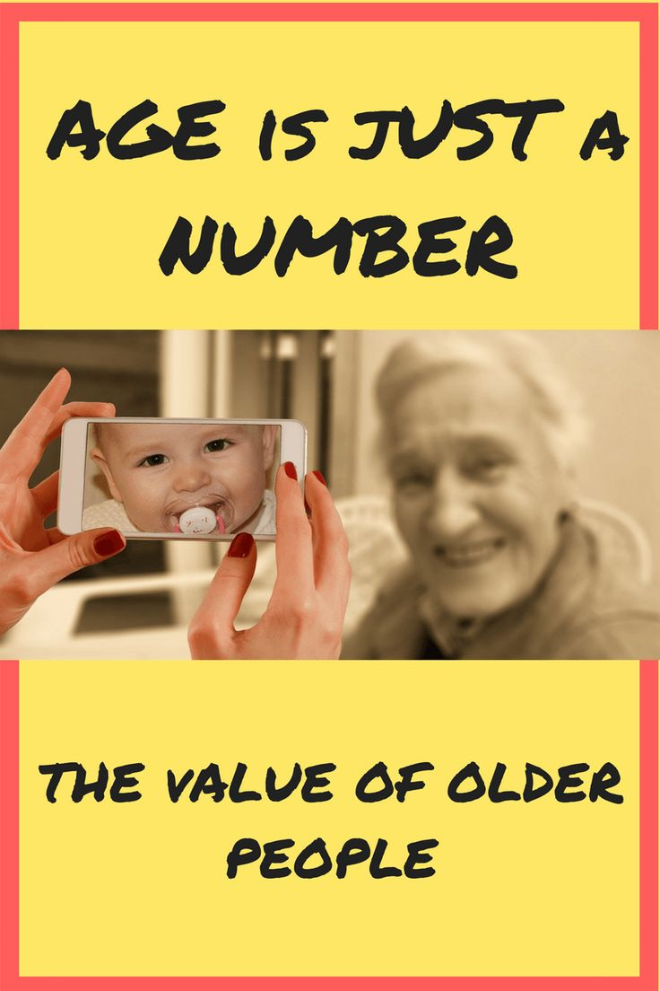 Importance of valuing older people and why.