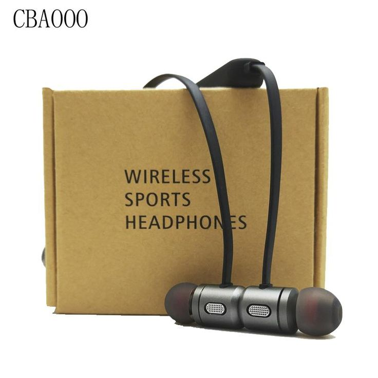 CBAOOO Bass Bluetooth Earphone Wireless Earphones Headphones Stereo Magnetic Earbuds Bluetooth Headset with Mic for Mobile phone