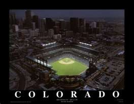 seen several game here at Coors Field, downtown Denver, Colorado, home of the Colorado Rockies Baseball Franchise.