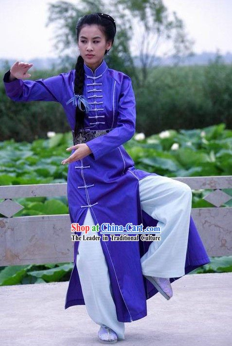 Chinese Female Martial Artists | Category: Chinese Shaolin Martial Arts Uniform Store Supplies Wushu ...  Martial arts gear and uniform -