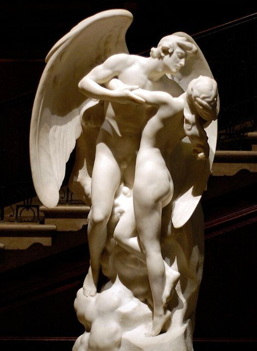 Daniel Chester French (American, 1850-1931), Immortal Love ~ The Sons of God Saw…