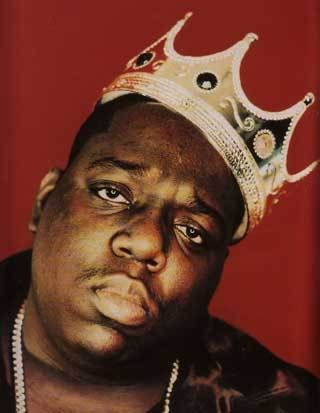 """I said I luv it when ya call me big poppa""- B.I.G. is nothing but Notorious, by far MY favorite rapper..Rest in Peace and love <3"