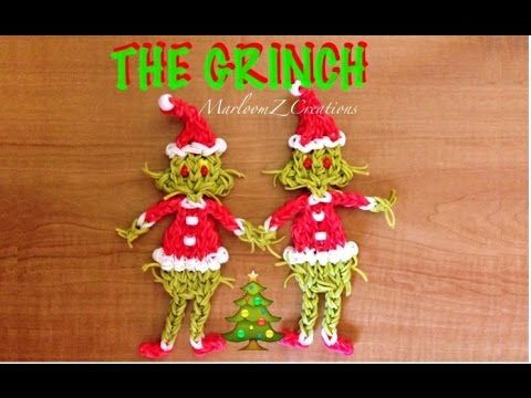 Rainbow Loom: The Grinch That Stole Christmas Updated