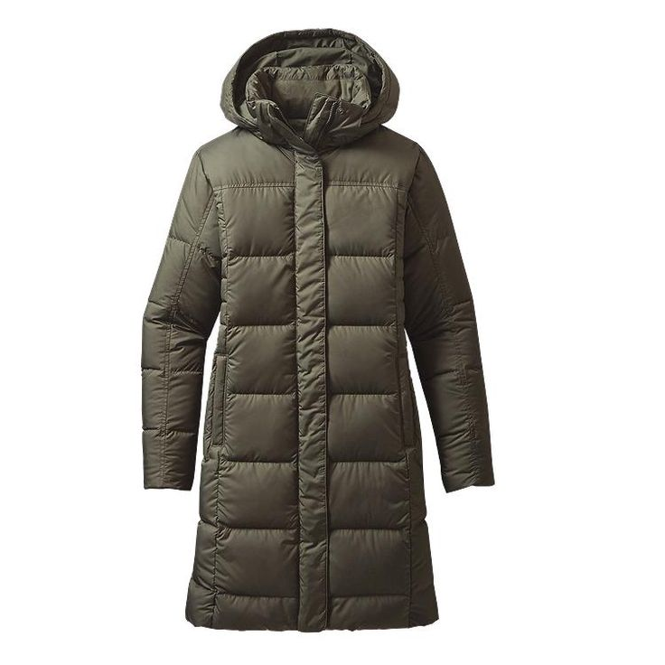 Patagonia Women\'s Down With It Parka - Industrial Green INDG
