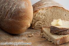 Łatwy chleb pszenny. Przepis: http://www.prosteprzepisykulinarne.com/2012/06/latwy-chleb-pszenny.html