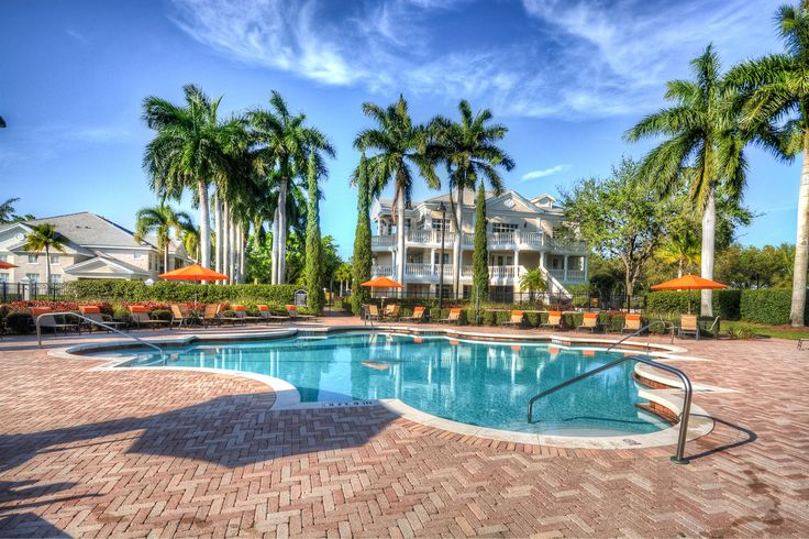 The Charleston Boca Raton Luxury Apartments outdoor pool