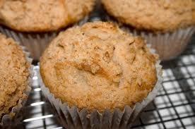 Apple Raisin Oat Muffins