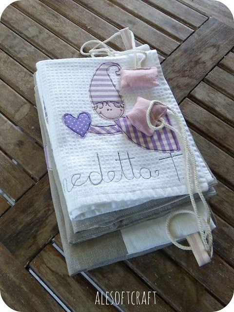tessuti creativi, asilo, scuola, asciugamano