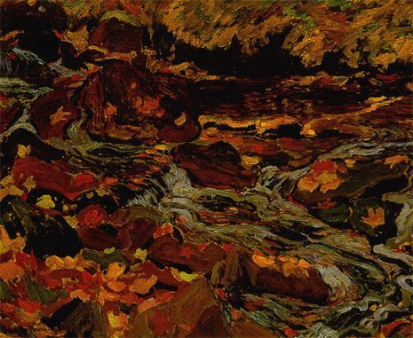 Leaves in the Brook, 1919 - J. E. H. MacDonald