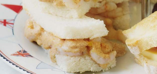 Prawn Sandwich Recipe - Prawn Cocktail Fingers - Sainsbury's