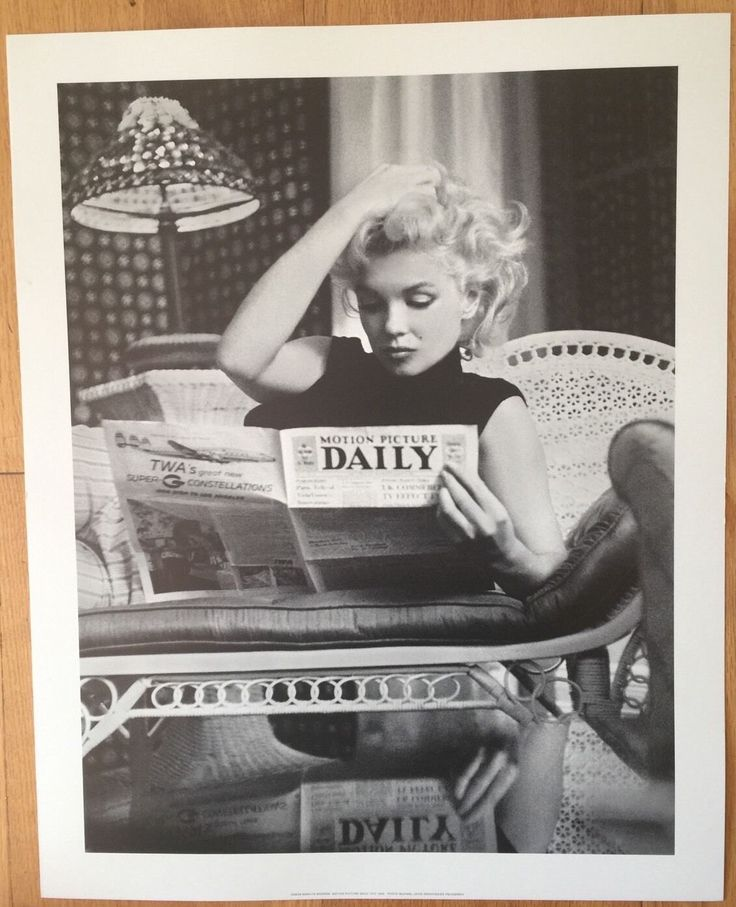 Marilyn Monroe Daily News 16 X 20 POSTER by PosterAmerica on Etsy https://www.etsy.com/uk/listing/464752807/marilyn-monroe-daily-news-16-x-20-poster